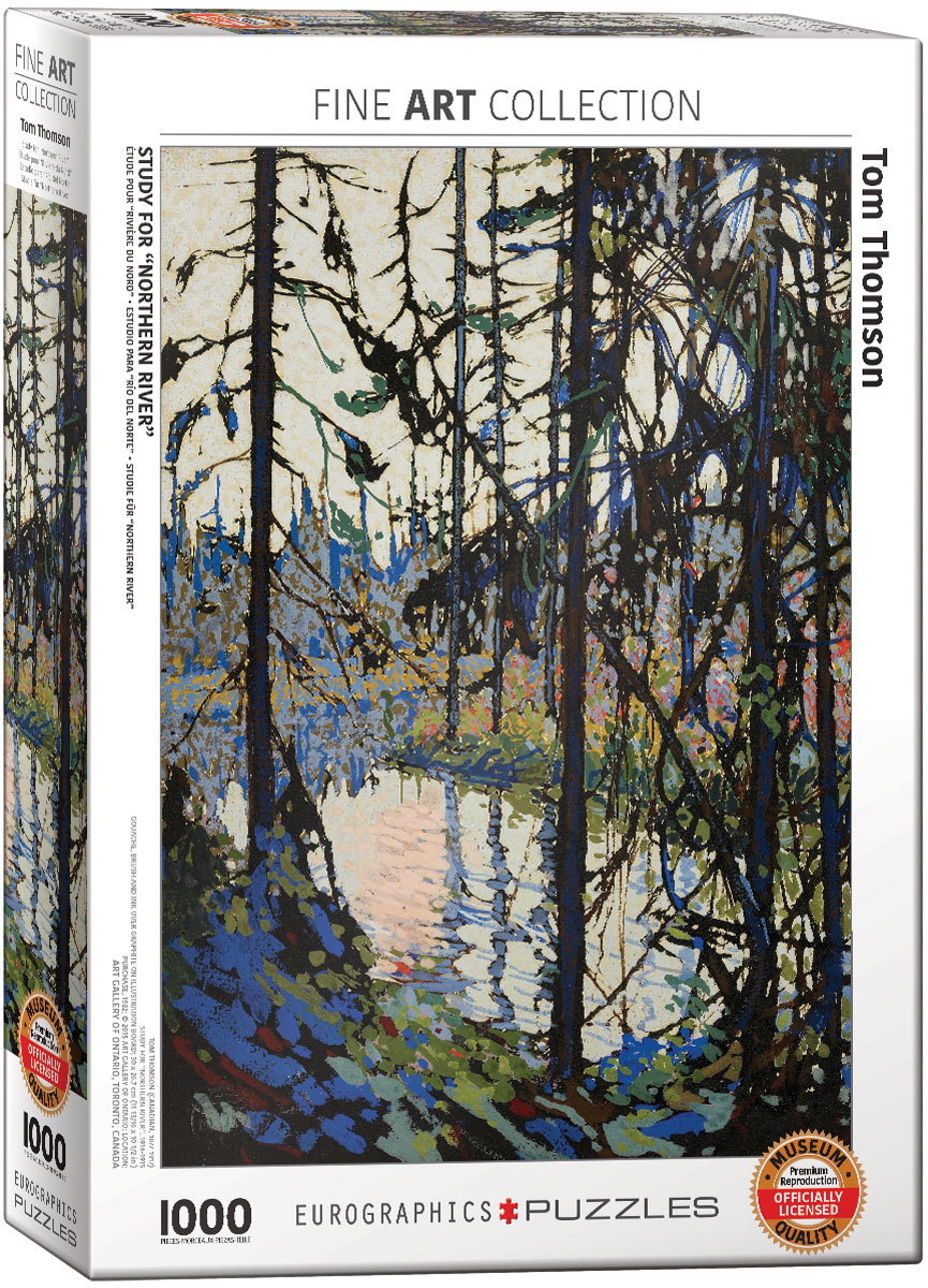"""Study for """"Northern River"""""""