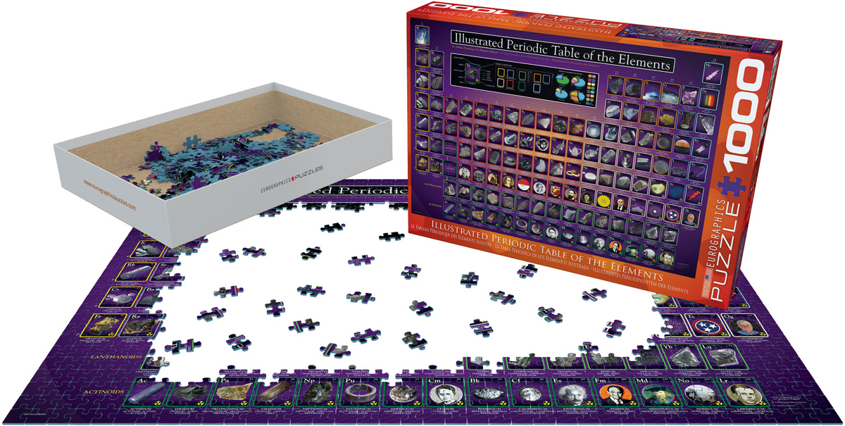 The Illustrated Periodic Table of the Elements, Jigsaw ...